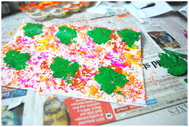 making green diy holi cards mystartupkitchen
