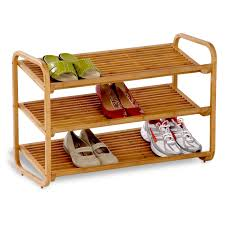 Lowes Shoe Storage Racks Extraordinary Walmart Shoe Racks With Stacking Feature