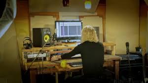 Studio Recording Desks by Finished The Studio Desk For Standing U0026 Sitting Youtube