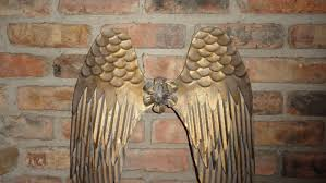 angel wings gold christian symbol shabby chic gift ideas