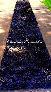 Black Aisle Runner Sale Aisle Runner With Black Silk Rose Petals By Fashionproposals