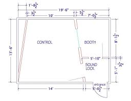 Home Design For Rectangular Plot Design Considerations For Recording Studios Steven Klein U0027s Sound