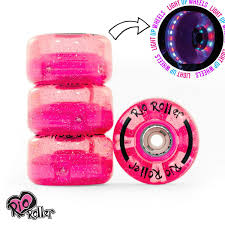 roller skates with flashing lights rio roller light up flashing wheels cool flashing lights pack of 4