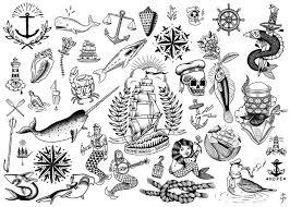 new school tattoo drawings black and white aeac6317d1732610fa001cf8197f471d navy tattoos ocean tattoos jpg
