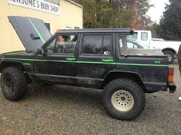 hunting jeep cherokee jeep of the month october transformation jeep