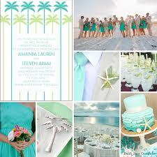 Beach Theme Wedding Invitations Beach Wedding Colors U2013 Beach Front Occasions Blog