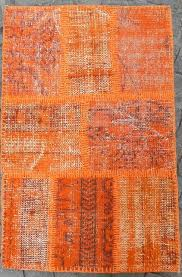 Orange Modern Rugs Orange Rugs Orange Area Rugs Patterned Geometric U