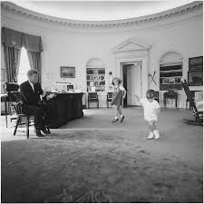 file kennedy children visit the oval office president kennedy