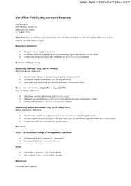 chartered accountant resume accounting job resume sample resume samples for freshers in