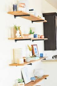 Hanging Wall Shelves Woodworking Plan by Best 25 Kids Wall Shelves Ideas On Pinterest Girls Bedroom