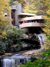 frank lloyd wright waterfall patricia uchello art travel food fallingwater by frank lloyd
