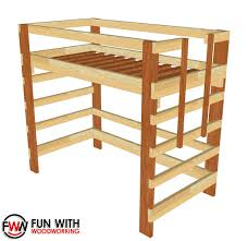 free bunk bed plans for kids 2199 in loft plan birdcages