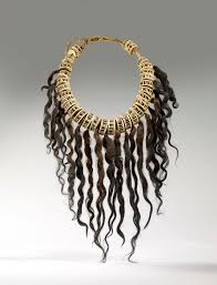 jewelry made from hair 89 best hair object images on hair hair and rocks