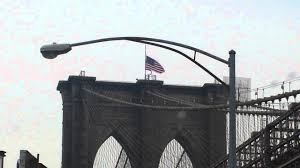 How To Dispose Of An American Flag When Torn Brooklyn Bridge Flag Ripped Due To Weather Youtube