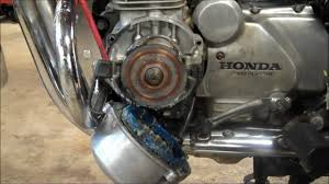 cb650 charging rotor test removal u0026 install youtube