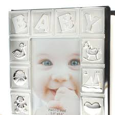 silver plated baby gifts personalised silver plated baby album the gift experience
