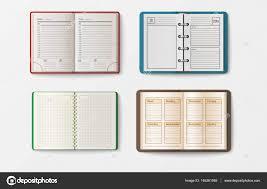 agenda bureau ensemble d ouverts cahiers réalistes avec livret de pages agenda