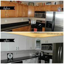 best white to paint kitchen cabinets kitchen design painting oak kitchen cabinets white before and