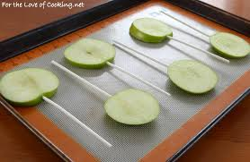 Where Can I Buy Caramel Apple Lollipops Chocolate Dipped Apple Pops For The Love Of Cooking