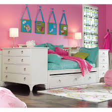 White Wooden Daybed Girls Room Features White Wood Daybed With Storage Decofurnish