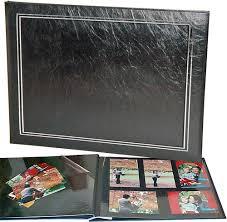 magnetic photo album acid free ncl jumbo photo albums black pages the photo album shop