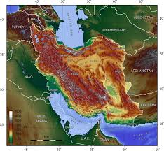Geography Map Iran Map