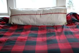 Buffalo Plaid Duvet Cover Buffalo Check In Bed