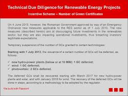 technical due diligence renewable energy we build with passion