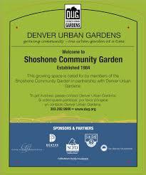 Urban Garden Denver - garden sign policy denver urban gardens
