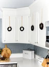 decorate kitchen cabinets wreaths cook kitchen cabinets