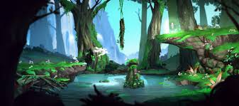 Ori And The Blind Forest Ori And The Blind Forest Inspired Background U2014 Polycount