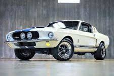 ford mustang 1967 shelby gt500 for sale autoart shelby mustang gt500 1967 with white stripes ebay