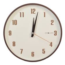 small numbers silent wall clock decomates
