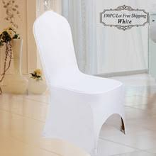 white wedding chair covers buy white spandex chair covers and get free shipping on aliexpress