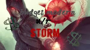 budget modern deck u r storm youtube