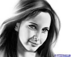 realistic drawing of human face drawing of sketch