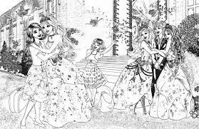 barbie princess charm coloring pages kleurplaten 212695