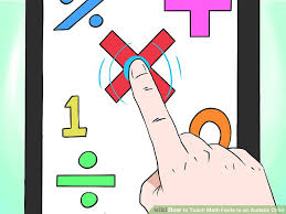 math facts how to teach math facts to an autistic child with pictures
