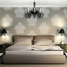 large damask wall stencils extra stencil better than wallpaper