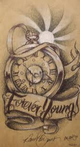 clock tattoo on hand gears clock in hand portrait tattoo on muscles photos pictures
