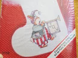 sale christmas stocking craft kit cute bunny jingle toes kit