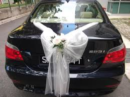 wedding ideas wedding car decorations bows easy wedding car