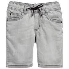 light wash denim shorts junior grey light wash denim shorts childrensalon