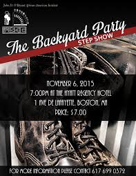 the backyard party step show u0026 after party young professionals
