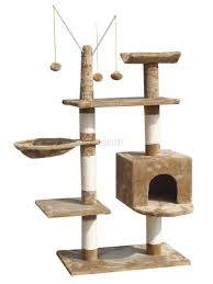 Large Cat Scratching Post Foxhunter Cat Tree Scratching Post Activity Centre Bed Toys