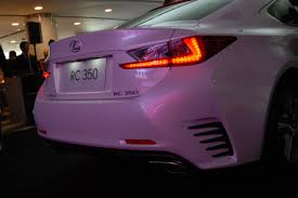 lexus rc f malaysia lexus rc 350 and rc f coupes officially launched in malaysia