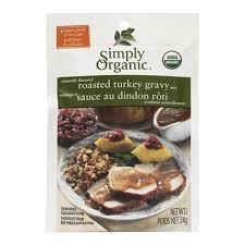 turkey gravy mix simply organic turkey gravy seasoning mix 24g goodness me