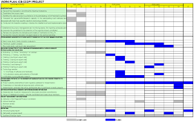 100 work plan template excel download free printable excel