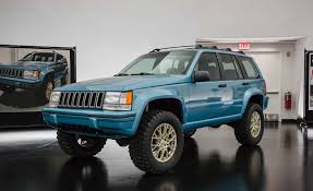 jeep grand cherokee rear bumper jeep grand one concept celebrates the 1993 grand cherokee news