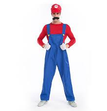 5pcs super mario brothers costumes mario u0026 luigi bro halloween